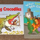 Counting Crocodiles and What Time is It Mr. Crocodile by Judy Sierra