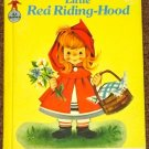 Little Red Riding Hood 1958 Rand McNally Elf book Anne Sellers Leaf