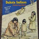 Dakota Indians Coloring Book by Chet Kozlak 1979