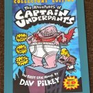 The Adventures of Captain Underpants by Dav Pilkey Collector's Edition with CD