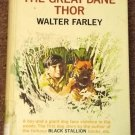 The Great Dane Thor by Walter Farley 1973