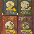 4 Damian Drooth Supersleuth mystery books by Barbara Mitchelhill and Tony Ross