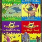 4 Greek Beasts and Heroes books by Lucy Coats The Magic Head