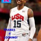 CARMELO ANTHONY 2012 TEAM USA BASKETBALL OLYMPIC CARD