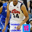 ANTHONY DAVIS 2012 TEAM USA BASKETBALL OLYMPIC CARD
