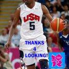 KEVIN DURANT 2012 TEAM USA BASKETBALL OLYMPIC CARD