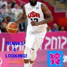JAMES HARDEN 2012 TEAM USA BASKETBALL OLYMPIC CARD