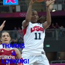 SWIN CASH 2012 TEAM USA BASKETBALL OLYMPIC CARD