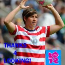 AMY LE PEILBET 2012 TEAM USA OLYMPIC SOCCER CARD