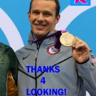 BRENDAN HANSEN 2012 TEAM USA OLYMPIC CARD *** BRONZE MEDAL WINNER!***