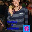 BREEJA LARSON 2012 TEAM USA OLYMPIC CARD *** GOLD MEDAL WINNER!***