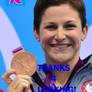 CAITLIN LEVERENZ 2012 TEAM USA OLYMPIC CARD *** BRONZE MEDAL WINNER!***