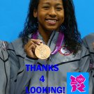 LIA NEAL 2012 TEAM USA OLYMPIC CARD *** BRONZE MEDAL WINNER!***