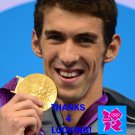 MICHAEL PHELPS 2012 TEAM USA OLYMPIC CARD *** GOLD MEDAL WINNER!***