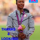 CARMELITA JETER 2012 TEAM USA OLYMPIC CARD *** BRONZE MEDAL WINNER!***