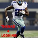 LANCE DUNBAR 2012 DALLAS COWBOYS FOOTBALL CARD
