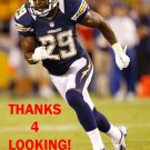 SHAREECE WRIGHT 2012 SAN DIEGO CHARGERS FOOTBALL CARD