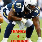 REX HADNOT 2012 SAN DIEGO CHARGERS FOOTBALL CARD