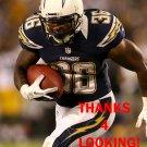 CURTIS BRINKLEY 2012 SAN DIEGO CHARGERS FOOTBALL CARD