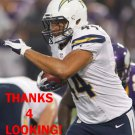 JACKIE BATTLE 2012 SAN DIEGO CHARGERS FOOTBALL CARD