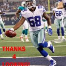 ORIE LEMON 2012 DALLAS COWBOYS FOOTBALL CARD