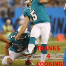 DAN CARPENTER 2012 MIAMI DOLPHINS FOOTBALL CARD