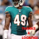JONATHAN FREENY 2012 MIAMI DOLPHINS FOOTBALL CARD