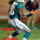 RISHARD MATTHEWS 2012 MIAMI DOLPHINS FOOTBALL CARD