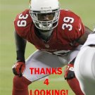 JAMES SANDERS 2012 ARIZONA CARDINALS FOOTBALL CARD
