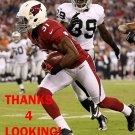 JUSTIN BETHEL 2012 ARIZONA CARDINALS FOOTBALL CARD