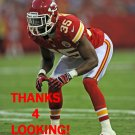 JACQUES REEVES 2012 KANSAS CITY CHIEFS FOOTBALL CARD