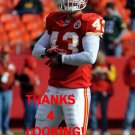 THOMAS GAFFORD 2012 KANSAS CITY CHIEFS FOOTBALL CARD