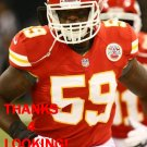 JOVAN BELCHER 2012 KANSAS CITY CHIEFS FOOTBALL CARD