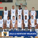 2012-13 KENTUCKY WILDCATS TEAM CARD