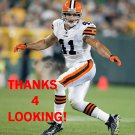 RAY VENTRONE 2012 CLEVELAND BROWNS FOOTBALL CARD