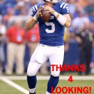 DREW STANTON 2012 INDIANAPOLIS COLTS FOOTBALL CARD
