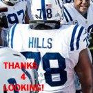 TONY HILLS 2012 INDIANAPOLIS COLTS FOOTBALL CARD