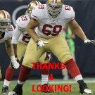 KENNY WIGGINS 2012 SAN FRANCISCO 49ERS FOOTBALL CARD