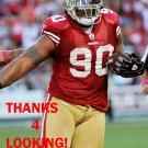 ISAAC SOPOAGA 2012 SAN FRANCISCO 49ERS FOOTBALL CARD