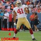 KENNY ROWE 2012 SAN FRANCISCO 49ERS FOOTBALL CARD