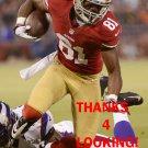 CHRIS OWUSU 2012 SAN FRANCISCO 49ERS FOOTBALL CARD