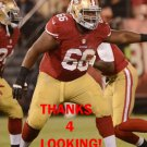 JOE LOONEY 2012 SAN FRANCISCO 49ERS FOOTBALL CARD