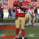 COLIN JONES 2012 SAN FRANCISCO 49ERS FOOTBALL CARD