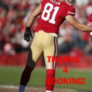 GARRETT CELEK 2012 SAN FRANCISCO 49ERS FOOTBALL CARD