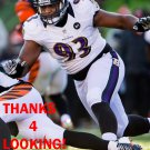 DeANGELO TYSON 2012 BALTIMORE RAVENS FOOTBALL CARD