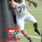 TERRENCE MOORE 2012 BALTIMORE RAVENS FOOTBALL CARD