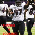 ARTHUR JONES 2012 BALTIMORE RAVENS FOOTBALL CARD