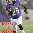 ASA JACKSON 2012 BALTIMORE RAVENS FOOTBALL CARD