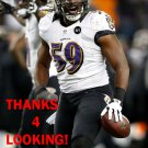 DANNELL ELLERBE 2012 BALTIMORE RAVENS FOOTBALL CARD
