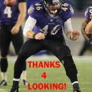 MORGAN COX 2012 BALTIMORE RAVENS FOOTBALL CARD